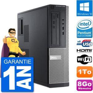UNITÉ CENTRALE + ÉCRAN PC Dell 3010 DT G2020 RAM 8Go Disque Dur 1To HDMI