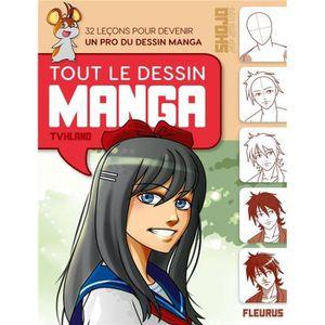 LIVRE LOISIRS CRÉATIFS Livre - tout le dessin manga - ne