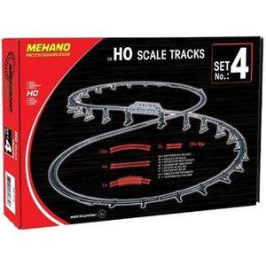 CIRCUIT MEHANO Coffret de rails n°4 - 52 pièces