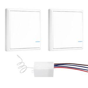 COURANT PORTEUR - CPL Interrupteur de lumière sans fil avec récepteur IP