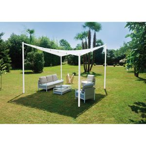 pergola fer achat vente pergola fer pas cher les. Black Bedroom Furniture Sets. Home Design Ideas