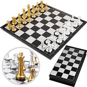 JEU SOCIÉTÉ - PLATEAU Jeu de Société Magnétique échecs Jeux pour Adulte