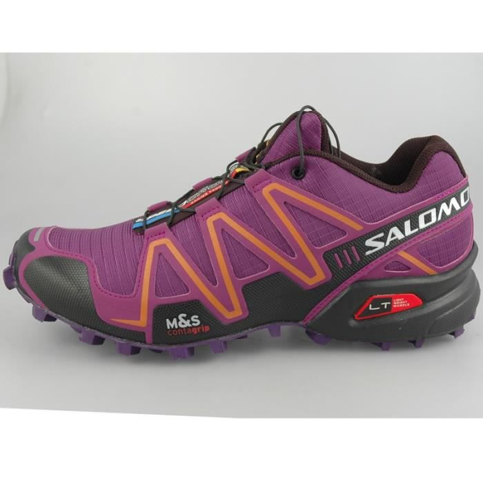 salomon chaussures trail speedcross 3 femme prix pas cher cdiscount. Black Bedroom Furniture Sets. Home Design Ideas