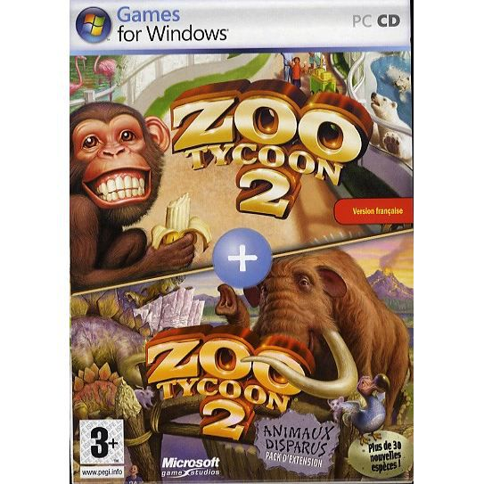 zoo tycoon 2 animaux disparus