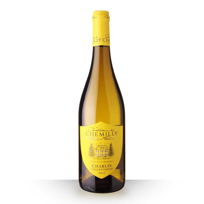 Château de Chemilly Vieilles Vignes 2017 AOC Chablis - 75cl - Vin Blanc