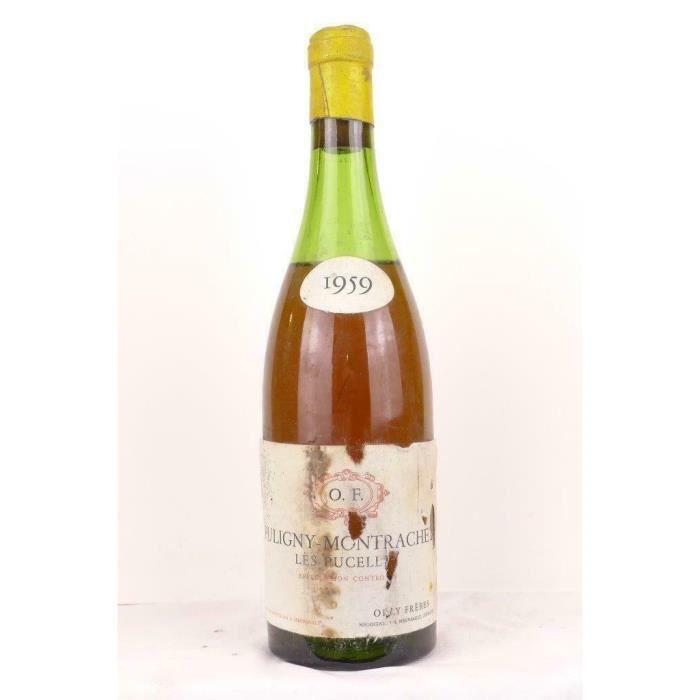 puligny-montrachet orly frères les pucelles blanc 1959 - bourgogne