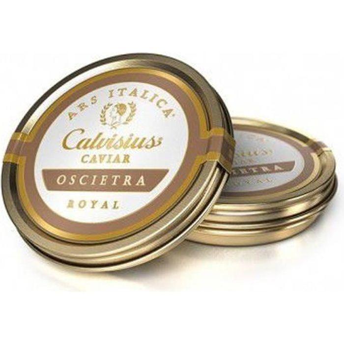 Caviar Calvisius Oscietre Royal boite 10 gr