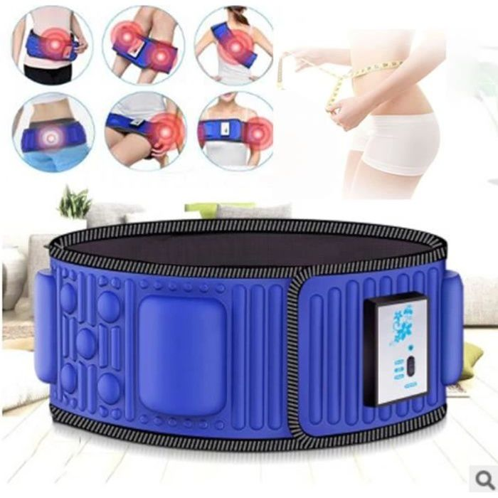 Stimulateur de vibrations électrique, amincissant, brûle la graisse du ventre, abdomen mince, ceinture taille haute femme