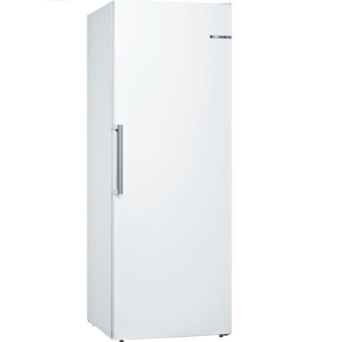 Bosch - Congélateur Armoire 70Cm 365L Nofrost A+++ Blanc - Gsn58Awdv