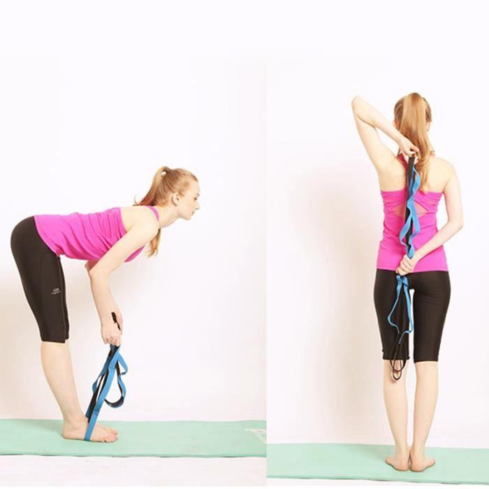 Bande Elastique Etirement Ballet Sangle Stretch pour Danse, Yoga, Aerobic, Gymnastique, Pilâtes