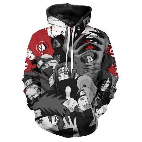 Sweatshirt Homme,2020 nouveau chandail Naruto 3d impression hommes pull décontracté mignon enfants pull à capuche