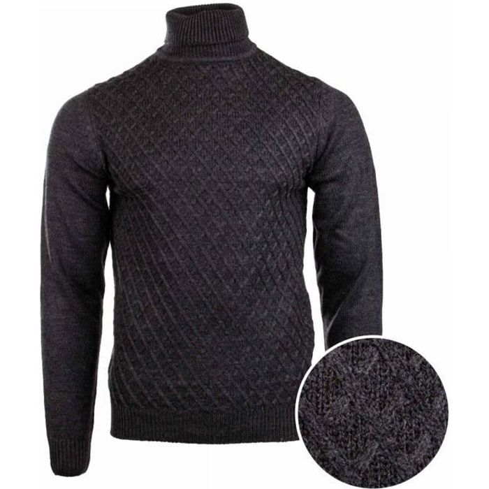 Pull Manches longues Col Roulé Homme TORRENTE