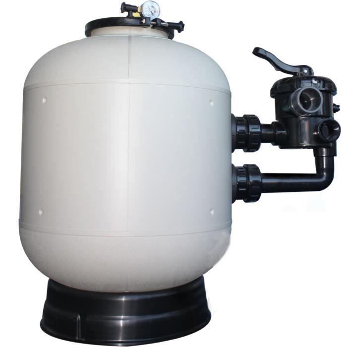 Filtre a sable piscine polyclair plus side ø s500 - 9 m³/h