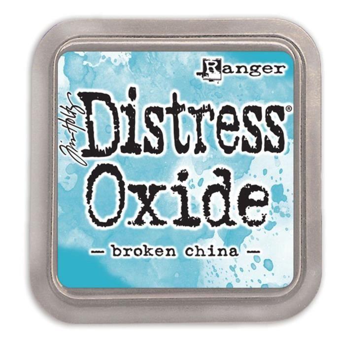 Encreur Distress Oxide de Ranger - Ranger distress oxides:broken china