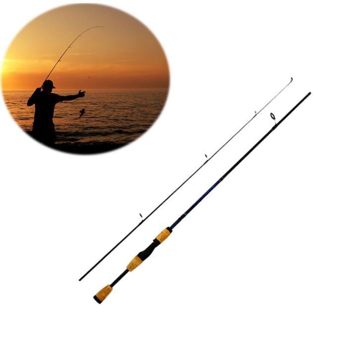 Télescopique canne à pêche pour la pêche pas cher coulée