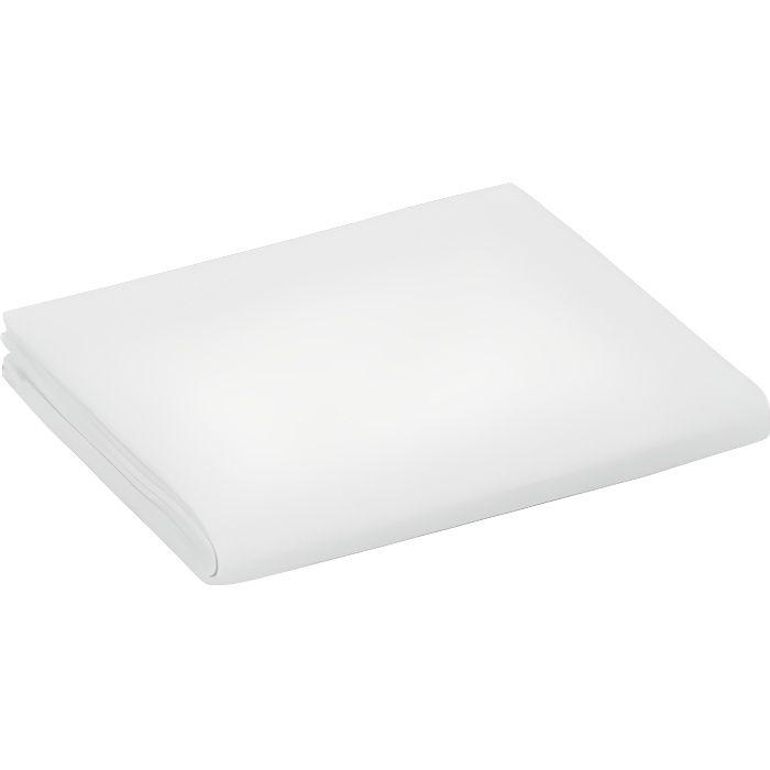 Drap Plat Tradition 180 x 290 cm 100/% Coton Blanc