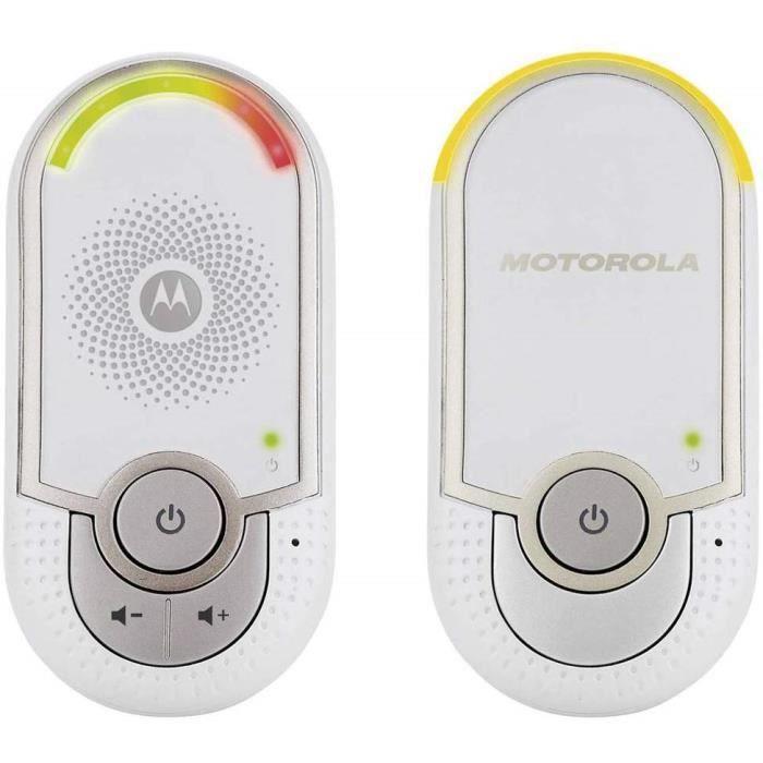 Photo de motorola-mbp-8-babyphone-audio-dect-avec-prise-murale