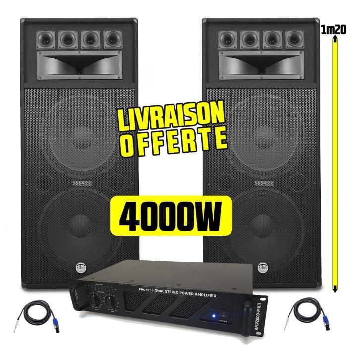 PACK SONO Pack Sonorisation Amplificateur AMP-2000-Mk2 2x150