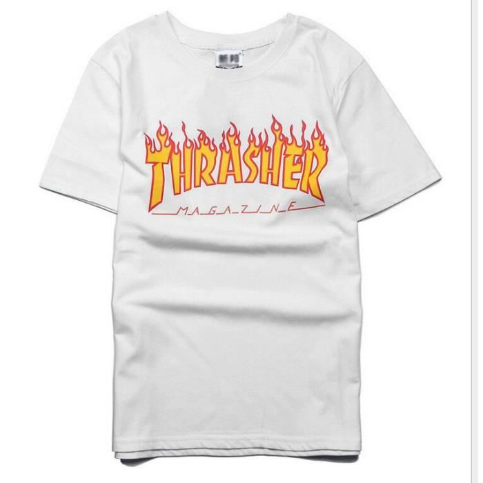 t shirt thrasher achat vente t shirt thrasher pas cher cdiscount. Black Bedroom Furniture Sets. Home Design Ideas