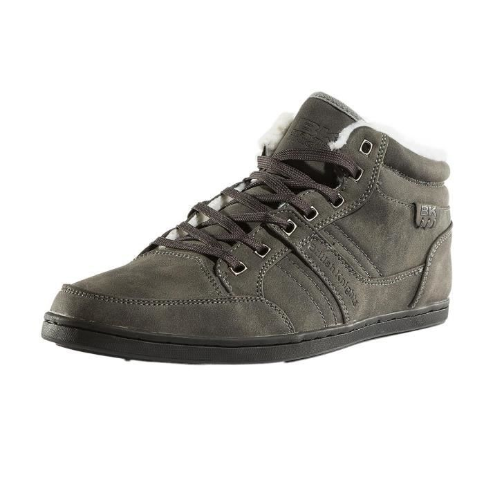 Mid Re Chaussures PU Baskets Knights Style WL Homme British 1aqgHw