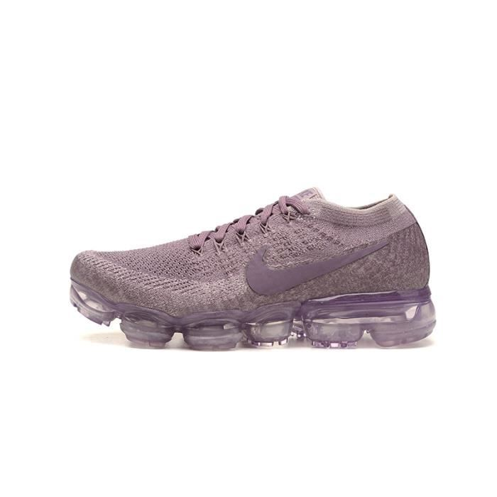 10d3b509794 Baskets Nike Air Vapormax Flyknit Femme Chaussure de Run Violet ...