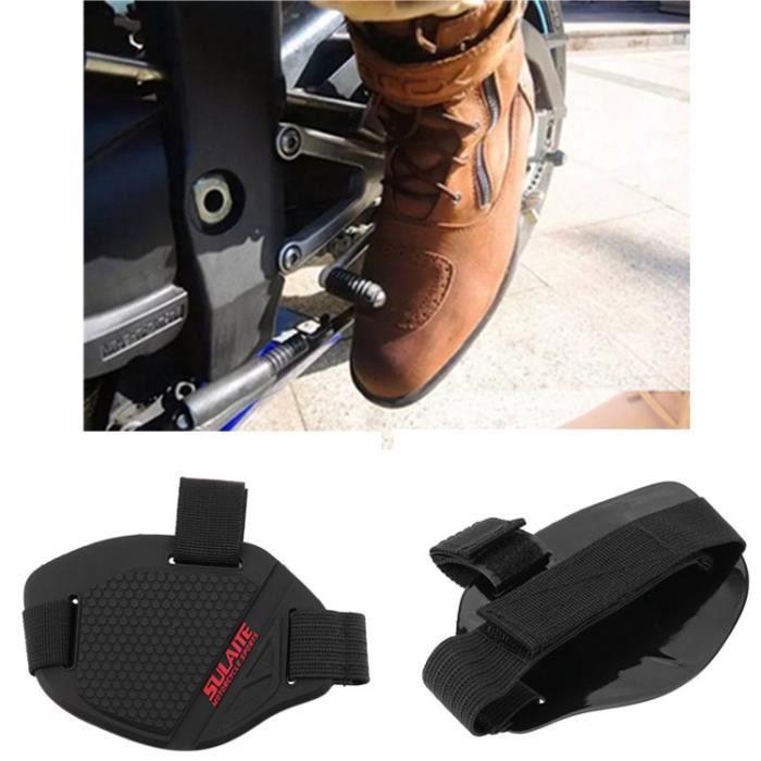 Bottes de Moto de Vitesses Moto Couvre pour Chaussures Chaussure Levier abrasion Protège Protecteurs Anti XOkuiPZ