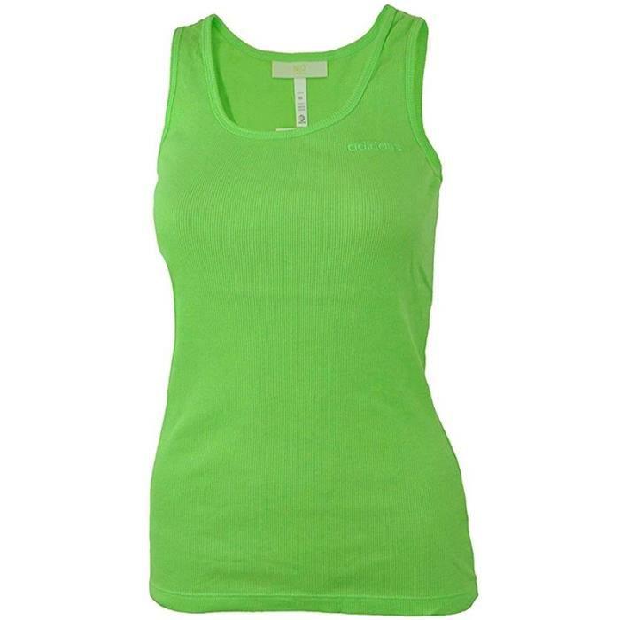 Débardeur Vert Femme Adidas Neo