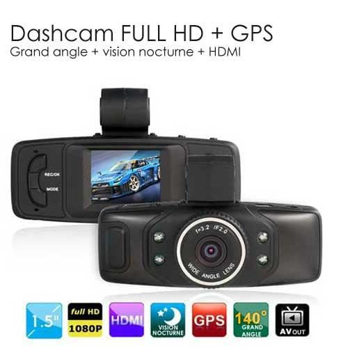 dashcam hd avec gps gsensor achat vente cam ra. Black Bedroom Furniture Sets. Home Design Ideas