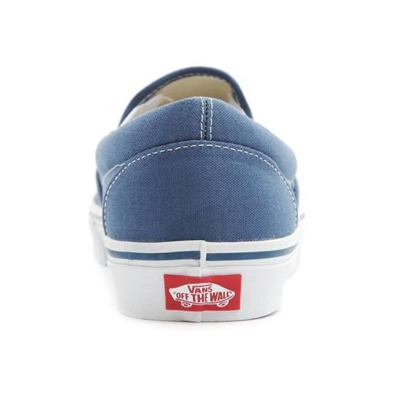 Sneakers Slip-On Bleu Marine