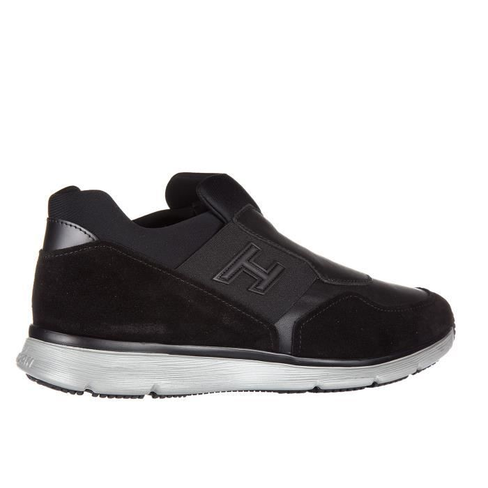 Slip on homme en cuir sneakerstraditional Hogan