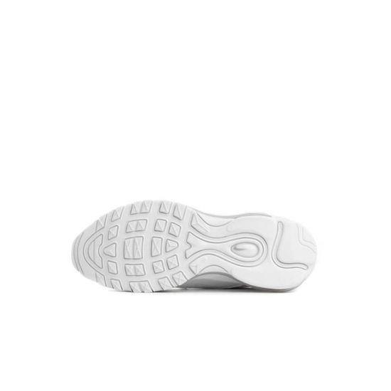 Basket Nike Air Max 97 Junior - 921522-104 Blanc - Cdiscount ...