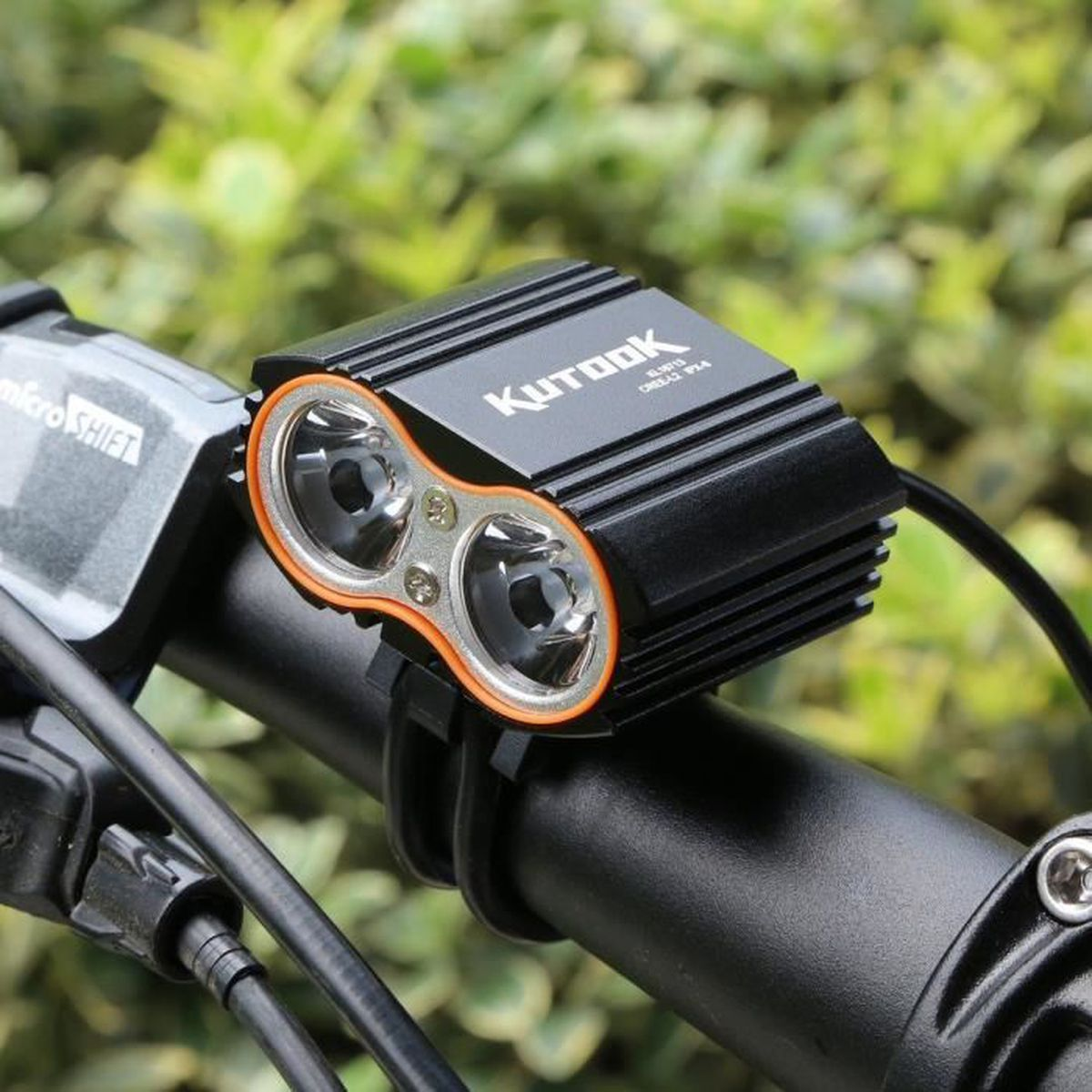 Kutook Vtt Led Ultra Eclairage Imperméable Vélo Avant Frontal Lampe DW9EH2I