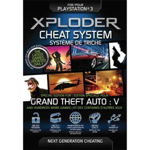 PACK ACCESSOIRE Xploder - Cheats GTA 5 - Accessoires PS3
