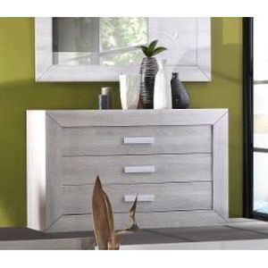 commode de chambre commode adulte 130 cm virginia l 130 x p 50 x h - Commode Chambre Adulte