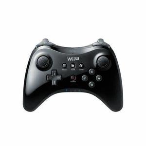 MANETTE JEUX VIDÉO Manette Classique Wii U Pro Noire b20190