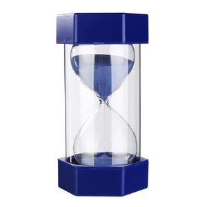 20/minutes sablier Sablier Sablier Sable Bleu couvercle argent/é