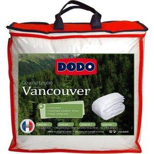 COUETTE DODO Couette légère Vancouver - 240 x 260 cm - Bla