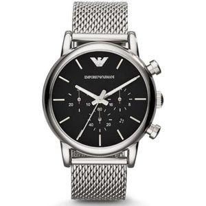 MONTRE EMPORIO ARMANI Montre chronographe 41mm - Acier -