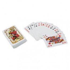 CARTES DE JEU Jeu de 52 cartes à jouer fleurs