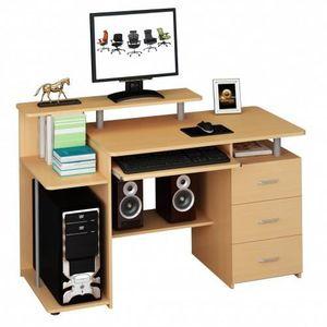 MEUBLE INFORMATIQUE 673954 table de bureau pour ordinateur, table info