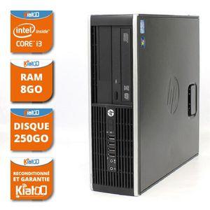 UNITÉ CENTRALE  ordinateur de bureau HP elite 8200 core I3 8go ram