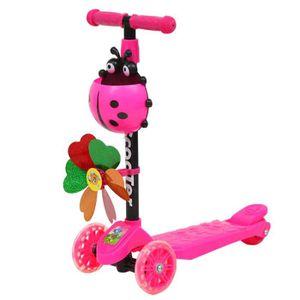 TROTTINETTE Trottinette pour enfants 3 roues 3 Hauteur réglabl