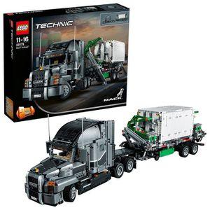 ASSEMBLAGE CONSTRUCTION Lego Technic Mack Truck Anthem Building Blocks pou