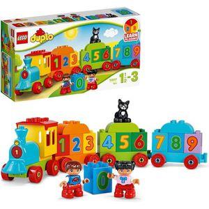 ASSEMBLAGE CONSTRUCTION LEGO® DUPLO® 10847 Le Train des Chiffres