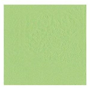 SERVIETTE JETABLE Serviette 33x33 cm - x50 - vignes vert anis