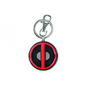 PORTE-CLÉS Porte Clé Logo Deadpool Coloré Metallique