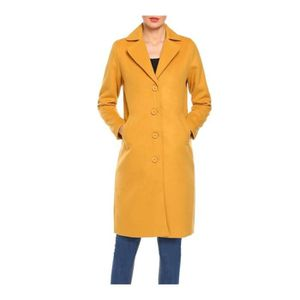 Imperméable - Trench Women's Trench Coat Solid Long Jacket Outwear Card