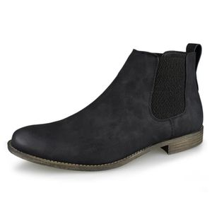 BOTTINE Botte Décontractée Botte Pull Up Casual pour Homme