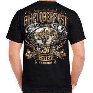 T-SHIRT 2019 Sturgis Bike Week T-Shirt Short Sleeve Cotton