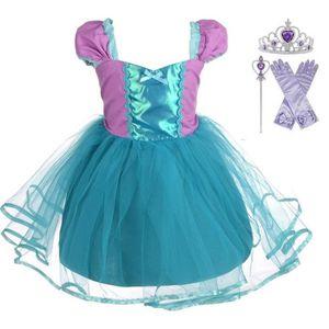 ROBE 2019 nouvelle Deguisement robe de sirène de fille